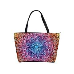 Tile Background Pattern Texture Shoulder Handbags