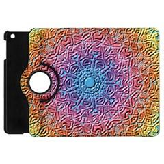 Tile Background Pattern Texture Apple iPad Mini Flip 360 Case