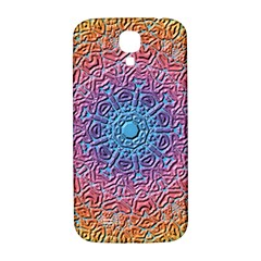 Tile Background Pattern Texture Samsung Galaxy S4 I9500/i9505  Hardshell Back Case