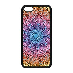 Tile Background Pattern Texture Apple iPhone 5C Seamless Case (Black)