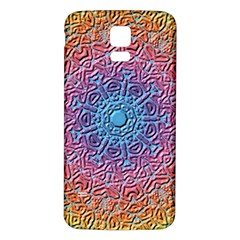 Tile Background Pattern Texture Samsung Galaxy S5 Back Case (white)