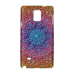Tile Background Pattern Texture Samsung Galaxy Note 4 Hardshell Case