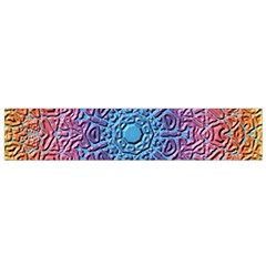 Tile Background Pattern Texture Flano Scarf (small)