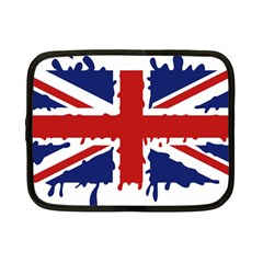 Uk Splat Flag Netbook Case (Small)