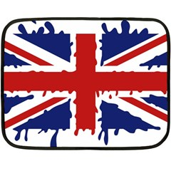 Uk Splat Flag Fleece Blanket (Mini)