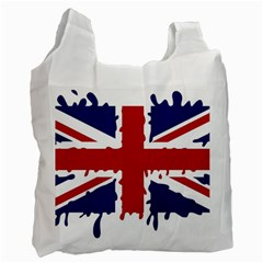 Uk Splat Flag Recycle Bag (Two Side)