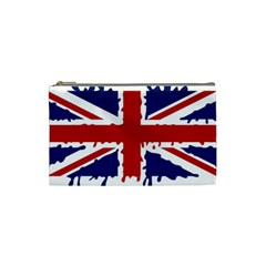 Uk Splat Flag Cosmetic Bag (Small)