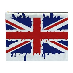 Uk Splat Flag Cosmetic Bag (XL)