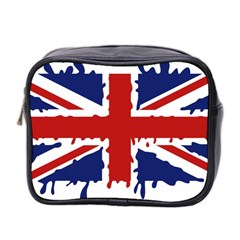 Uk Splat Flag Mini Toiletries Bag 2 Side