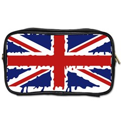 Uk Splat Flag Toiletries Bags