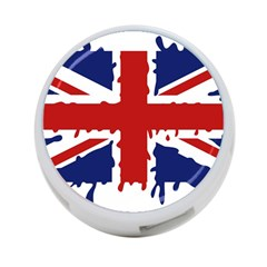 Uk Splat Flag 4-Port USB Hub (One Side)