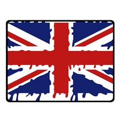 Uk Splat Flag Fleece Blanket (Small)