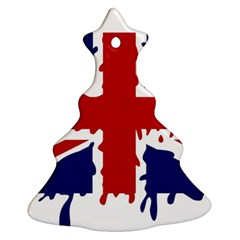Uk Splat Flag Ornament (Christmas Tree)