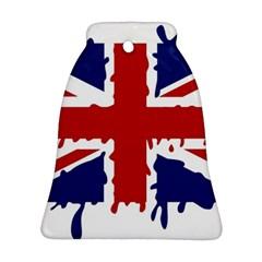 Uk Splat Flag Ornament (Bell)