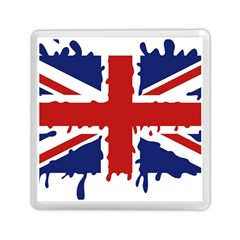 Uk Splat Flag Memory Card Reader (Square)