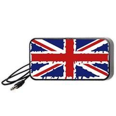 Uk Splat Flag Portable Speaker (Black)
