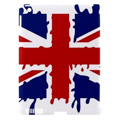 Uk Splat Flag Apple iPad 3/4 Hardshell Case (Compatible with Smart Cover)