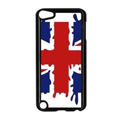 Uk Splat Flag Apple iPod Touch 5 Case (Black)