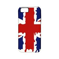 Uk Splat Flag Apple Iphone 5 Classic Hardshell Case (pc+silicone)
