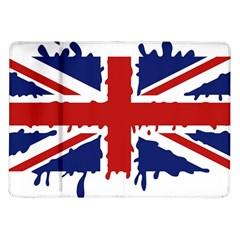 Uk Splat Flag Samsung Galaxy Tab 10 1  P7500 Flip Case