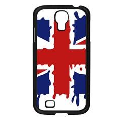 Uk Splat Flag Samsung Galaxy S4 I9500/ I9505 Case (Black)