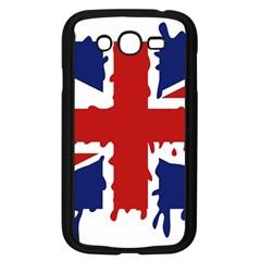 Uk Splat Flag Samsung Galaxy Grand DUOS I9082 Case (Black)