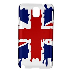 Uk Splat Flag Samsung Galaxy Note 3 N9005 Hardshell Case