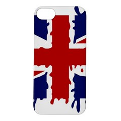 Uk Splat Flag Apple iPhone 5S/ SE Hardshell Case