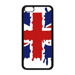 Uk Splat Flag Apple iPhone 5C Seamless Case (Black)