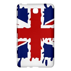 Uk Splat Flag Samsung Galaxy Tab 4 (8 ) Hardshell Case