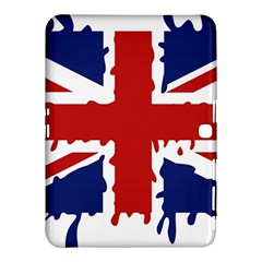 Uk Splat Flag Samsung Galaxy Tab 4 (10 1 ) Hardshell Case