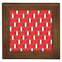 Weave And Knit Pattern Seamless Background Wallpaper Framed Tiles