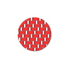 Weave And Knit Pattern Seamless Background Wallpaper Golf Ball Marker (4 pack)