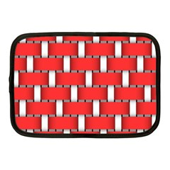 Weave And Knit Pattern Seamless Background Wallpaper Netbook Case (Medium)