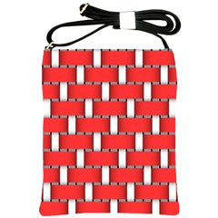 Weave And Knit Pattern Seamless Background Wallpaper Shoulder Sling Bags