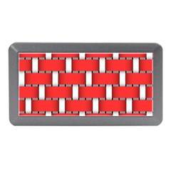 Weave And Knit Pattern Seamless Background Wallpaper Memory Card Reader (Mini)