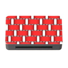 Weave And Knit Pattern Seamless Background Wallpaper Memory Card Reader with CF