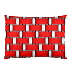 Weave And Knit Pattern Seamless Background Wallpaper Pillow Case (Two Sides)