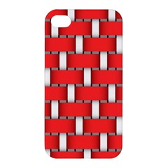 Weave And Knit Pattern Seamless Background Wallpaper Apple iPhone 4/4S Hardshell Case