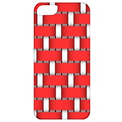 Weave And Knit Pattern Seamless Background Wallpaper Apple iPhone 5 Classic Hardshell Case