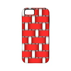 Weave And Knit Pattern Seamless Background Wallpaper Apple iPhone 5 Classic Hardshell Case (PC+Silicone)