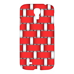 Weave And Knit Pattern Seamless Background Wallpaper Samsung Galaxy S4 I9500/I9505 Hardshell Case