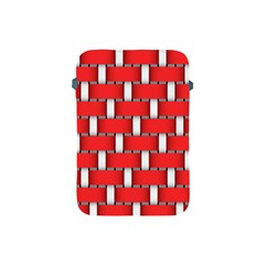 Weave And Knit Pattern Seamless Background Wallpaper Apple Ipad Mini Protective Soft Cases