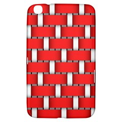 Weave And Knit Pattern Seamless Background Wallpaper Samsung Galaxy Tab 3 (8 ) T3100 Hardshell Case