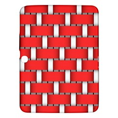 Weave And Knit Pattern Seamless Background Wallpaper Samsung Galaxy Tab 3 (10.1 ) P5200 Hardshell Case