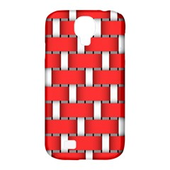 Weave And Knit Pattern Seamless Background Wallpaper Samsung Galaxy S4 Classic Hardshell Case (PC+Silicone)