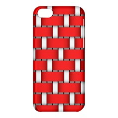 Weave And Knit Pattern Seamless Background Wallpaper Apple iPhone 5C Hardshell Case