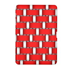 Weave And Knit Pattern Seamless Background Wallpaper Samsung Galaxy Tab 2 (10.1 ) P5100 Hardshell Case