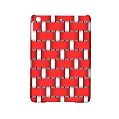 Weave And Knit Pattern Seamless Background Wallpaper iPad Mini 2 Hardshell Cases
