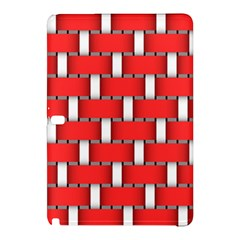 Weave And Knit Pattern Seamless Background Wallpaper Samsung Galaxy Tab Pro 10 1 Hardshell Case
